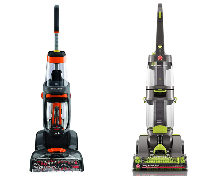 Bissell Proheat 2x Vs Hoover Dual Power Max Floorcleanny Com